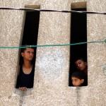 Palestinian children in Gaza City