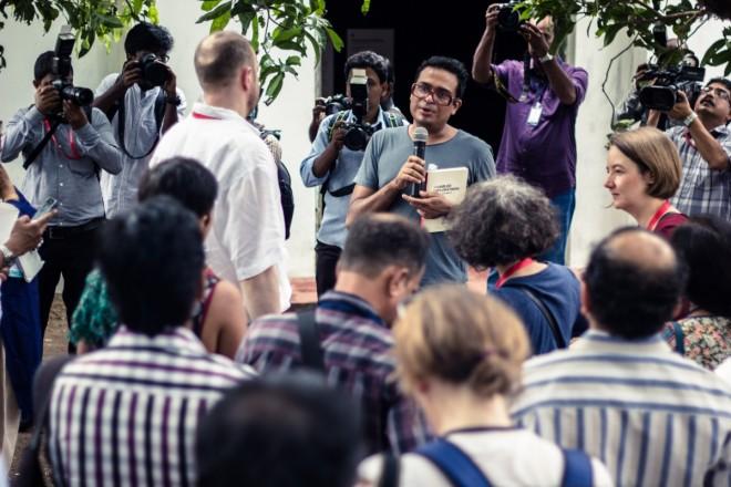 kochi-muziris-biennale-2014-curator-jitesh-kallat-speaks-media