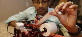 13-year-old Indian origin boy developed new version of Braille printer