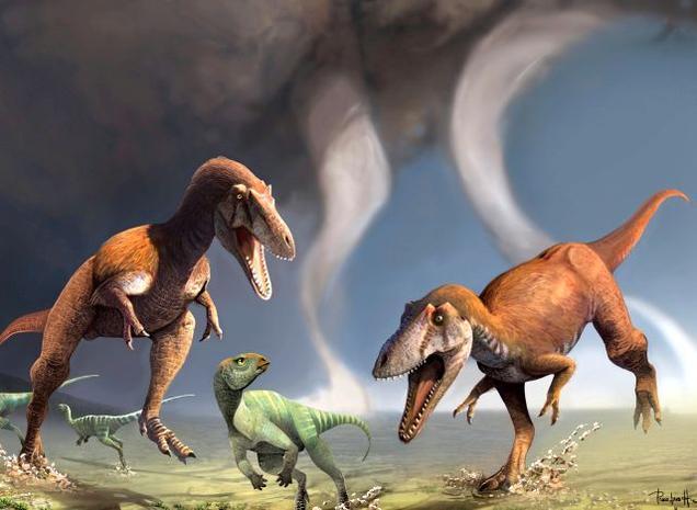 Meat eating argentena dinosaur