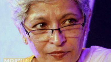 Gauri lankesh murder suspect portrait