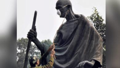 Mahatma Gandhi Delhi smog pollution