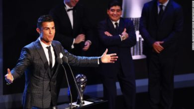 Cristiano Ronaldo best man FIFA