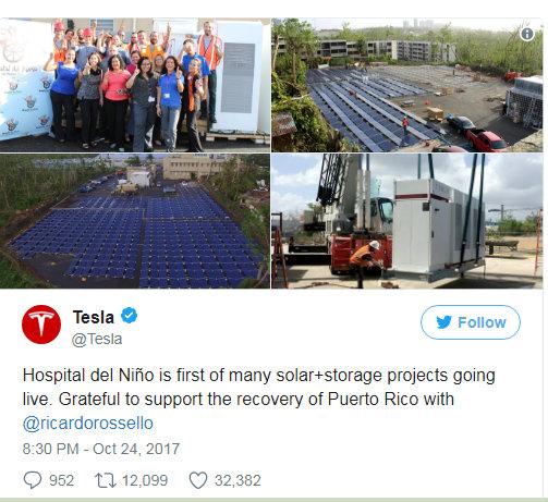 Solar puertoRico tesla