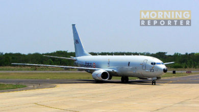 Indian navy on Manila P-8i
