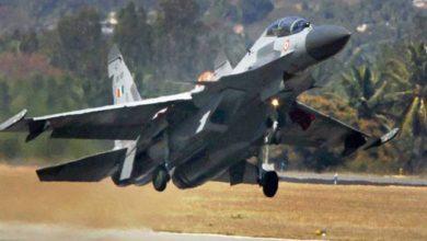 IAF drill on Lucknow