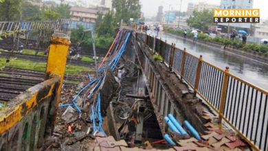 Mumbai Andheri road overbridge collapse