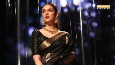 aditi rao hydari Lotus Make-Up India Fashion Week