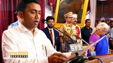 Pramod Sawant takes oath of Goa C M