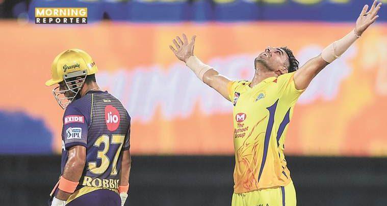 IPL 2019: Deepak Chahar, spinners shine as Chennai climb at top